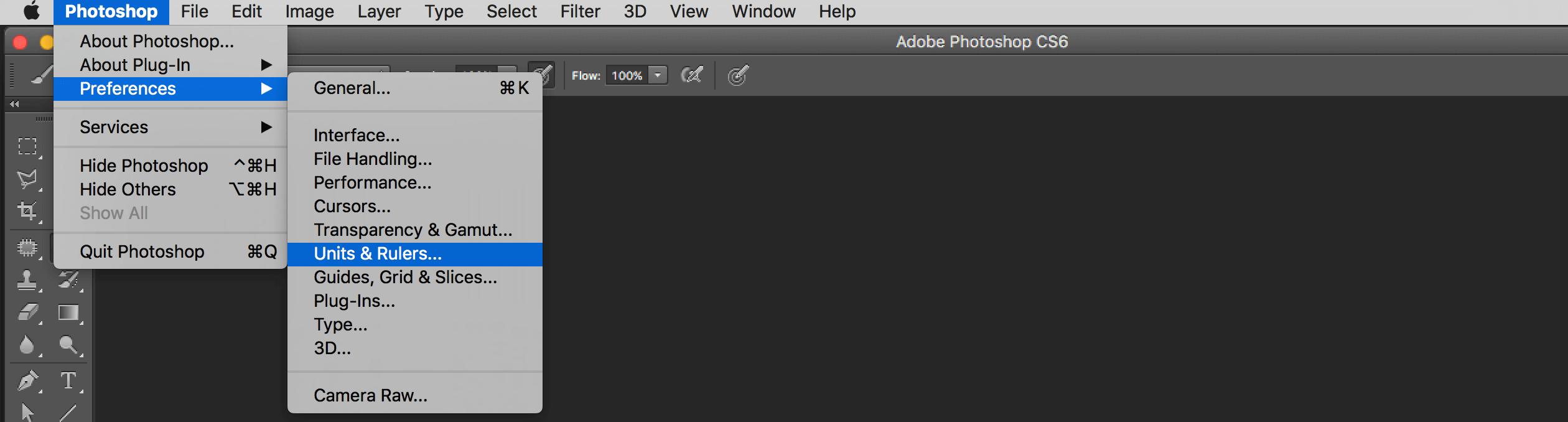 come trovare dimensioni effettive di stampa di un'immagine in photoshop