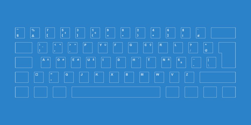 layout tastiera dvorak programmatore per essere più efficace nella programmazione