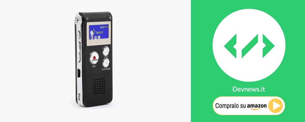 idee regalo per natale registratore suono per università