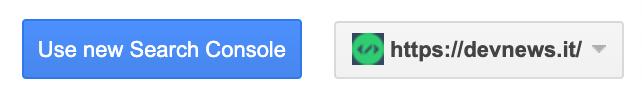 come accedere alla nuova versione della google search console e richiedere l'indicizzazione di un nuovo post