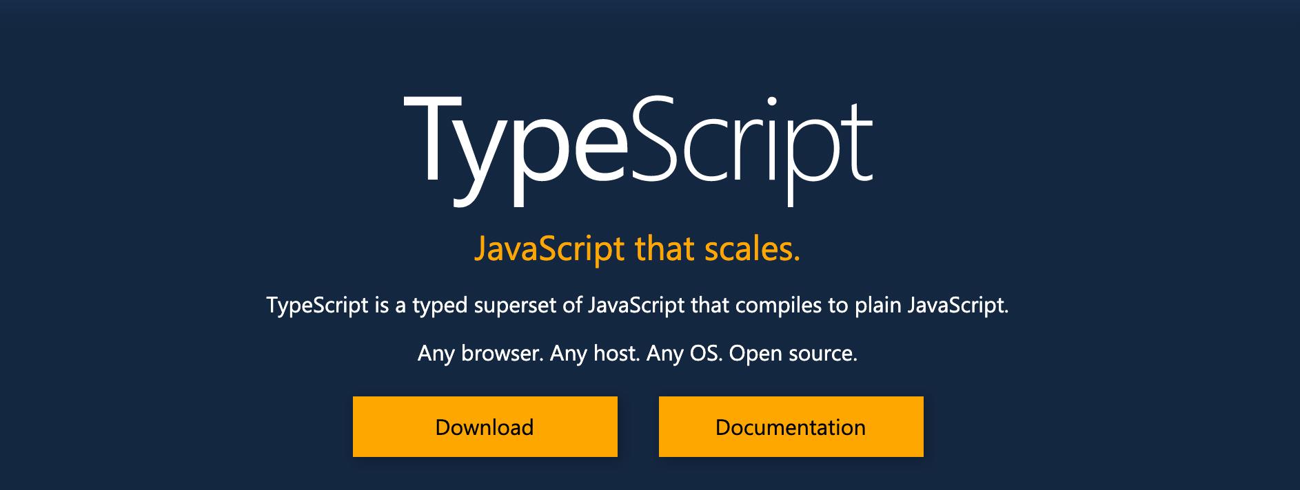 che cos'è typescript, come usare typescript e perchè usare typescript invece di javascript