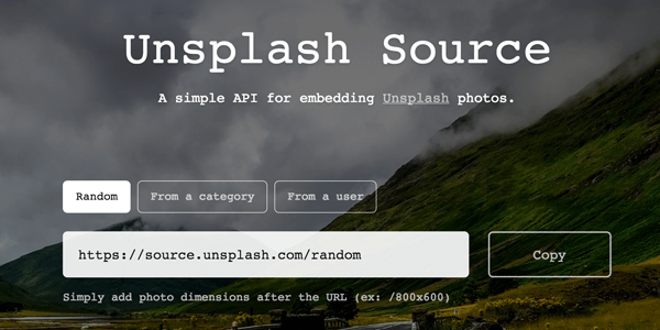 Unsplash API: Immagini gratis per Web Design | Devnews it