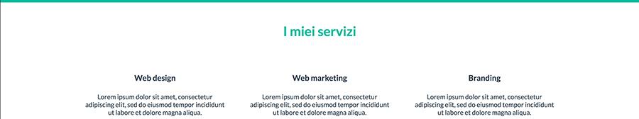 come affiancare, allineare orizzontalmente dei div in HTML con CSS