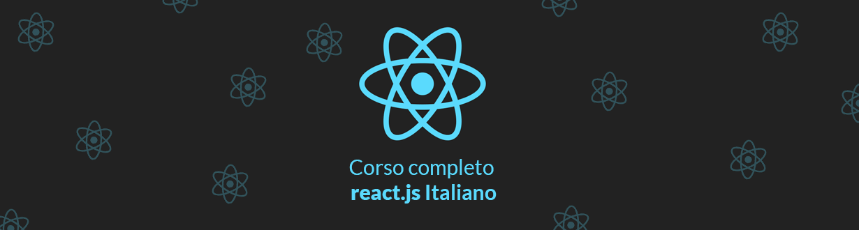 Corso React JS completo