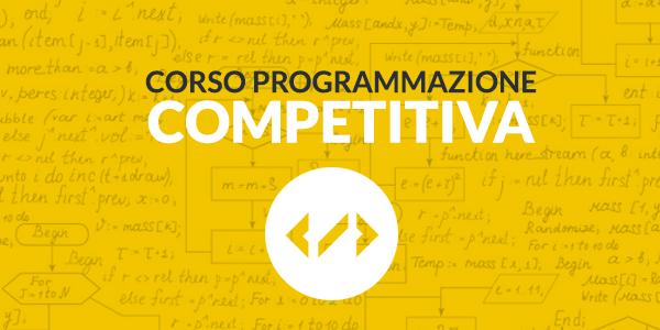 Corso per risolvere i coding challenge per la programmazione competitiva