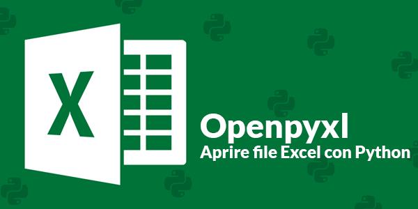 Guida python in italiano Come leggere e creare file Excel con Python