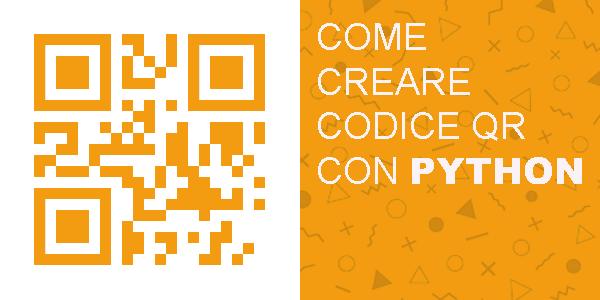 come creare un codice qr con python