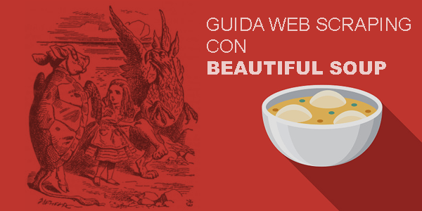 guida italiano web scraping con python e beautifulSoup