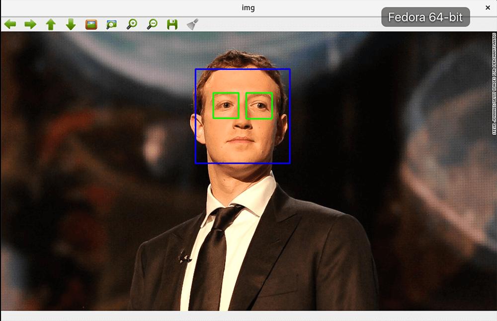 guida riconoscimento facciale del volto con programma python opencv