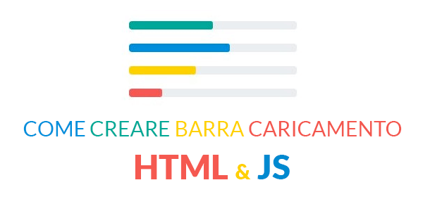 come creare barra avanzamento progresso di scroll con html e javascript