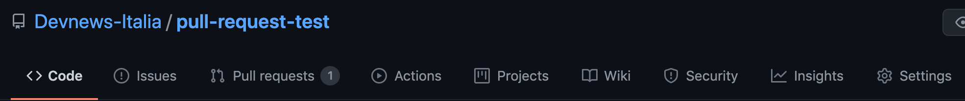 pull request elenco github