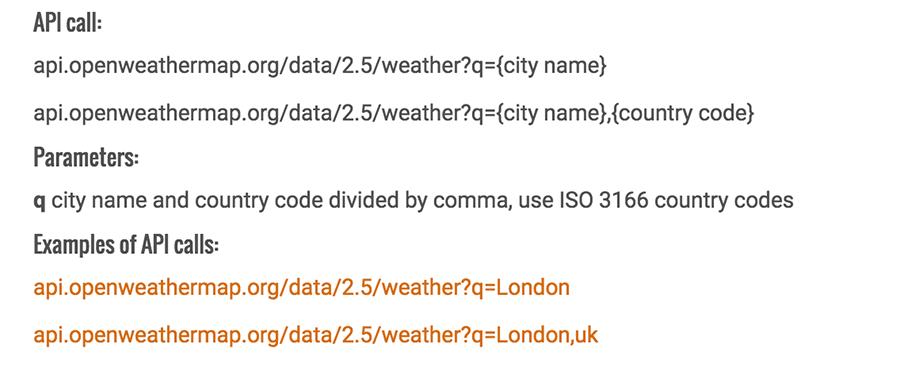 api gratis per prevedere meteo in formato JSON con http